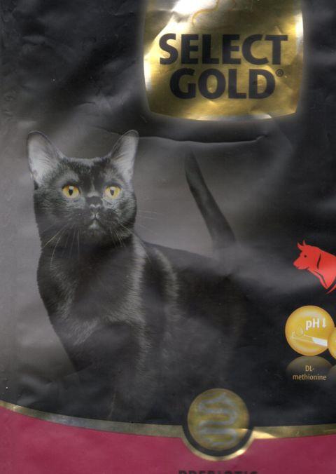 cat black selct gold