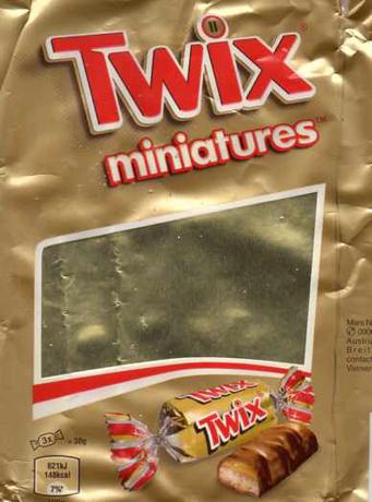 Twix Miniartur