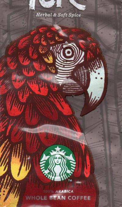 Peru Arabia Kaffee Starbucks passend für mittelgroße und große Sleeves