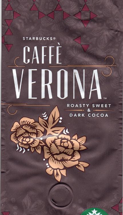 Starbucks Verona Cacao taste milder Espresso