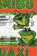 gummiwesen in Grün